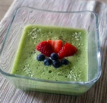 The ultimate matcha oatmeal